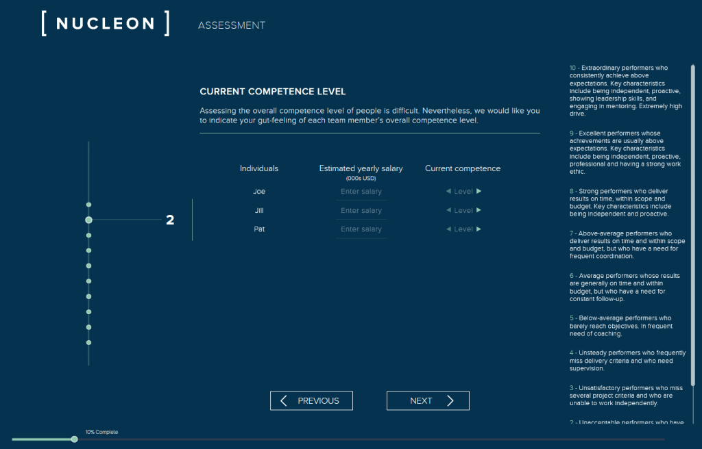 The Nucleon Assessment